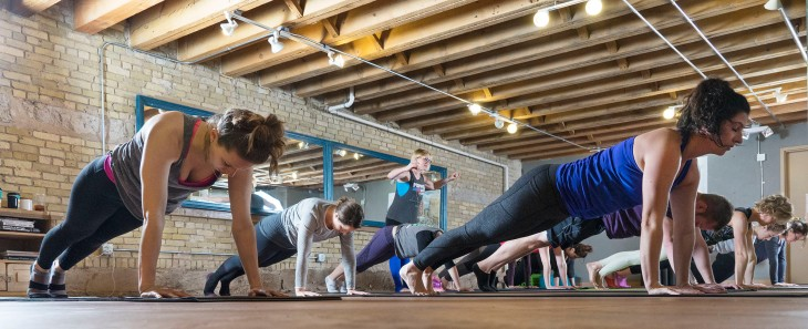 flying squirrel pilates mke in focus
